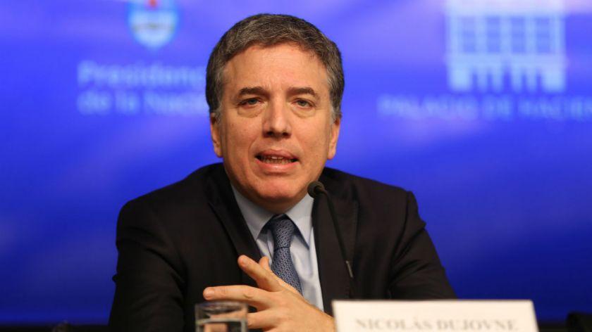 El ministro de Economía defenderá el proyecto del Presupuesto 2019 en el Senado