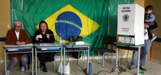 Elecciones en Brasil: cerraron los comicios en gran parte del país y en minutos comienzan a dar a conocer sondeos de boca de urna