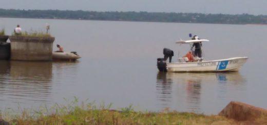 La búsqueda del joven desaparecido en el río lleva 24 horas y aún no tuvo éxito