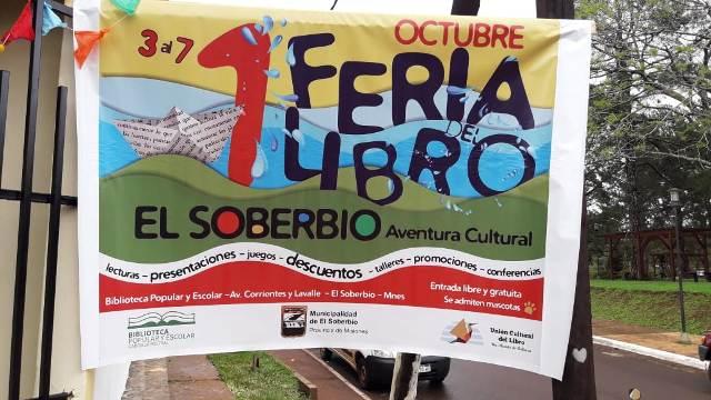 La Primera Feria del Libro de El Soberbio se extiende hasta el próximo domingo