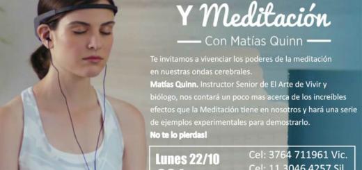 Participá del Concurso de Misiones Online y llevate dos entradas para el taller de neurociencia con Matías Quinn