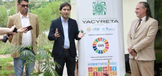 La EBY certificó cuatro Objetivos de Desarrollo Sostenible de las Naciones Unidas