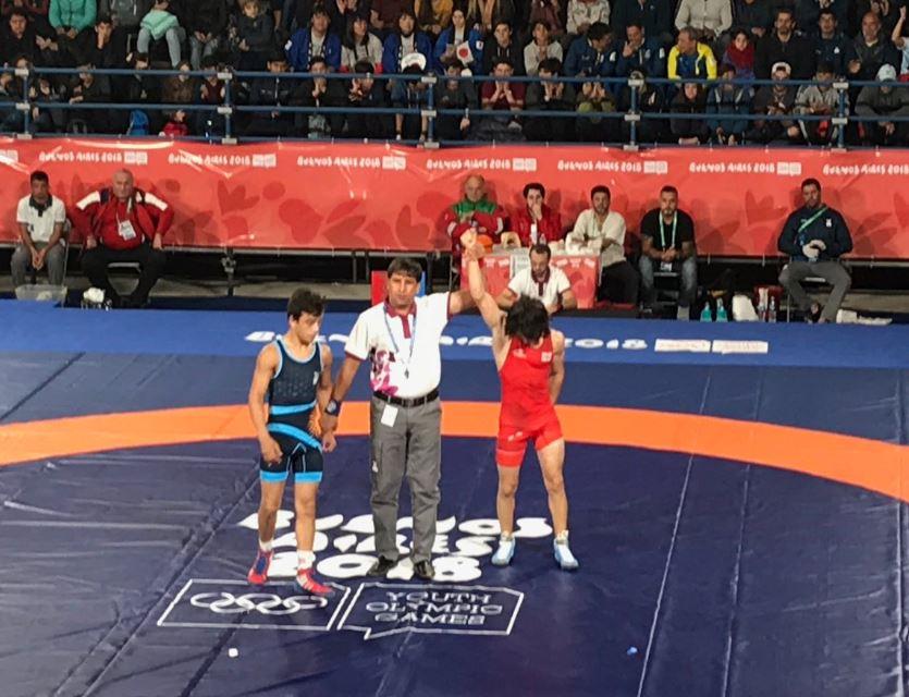 Juegos Olímpicos de la Juventud: Eduardo Lovera cayó en su segunda pelea, pero irá por el bronce a la tarde
