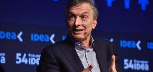 Macri volvió a insistir sobre la necesidad de cambios en la legalización laboral