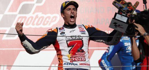 Marc Márquez no deja de hacer historia: se consagró pentacampeón del mundo en Moto GP