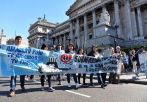 ARA San Juan: familiares se movilizaron para pedir justicia y verdad