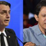 Elecciones en Brasil: Bolsonaro se impuso con el 46, 26 por ciento de los votos pero aún así hay segunda vuelta con Haddad