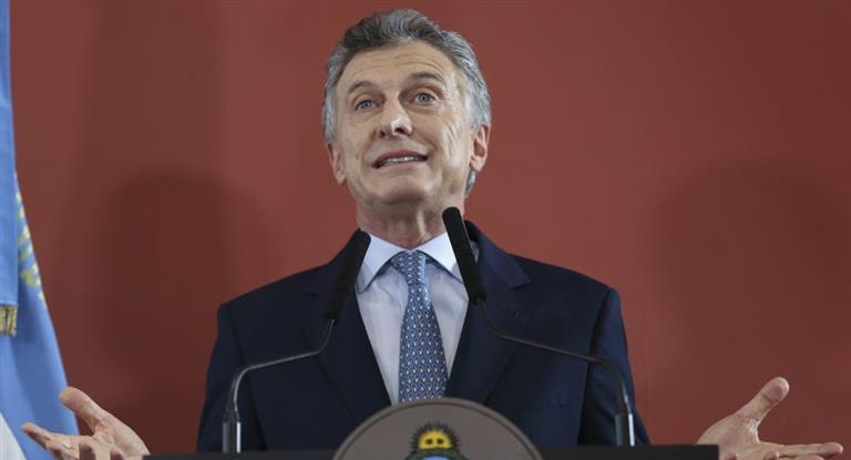 Macri: «La energía cuesta y hay que pagarla»