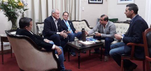 Herrera Ahuad recibió a autoridades del Rotary Posadas y al gobernador de distrito rotario