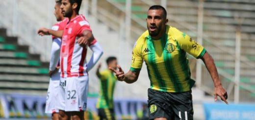 Superliga: Aldosiví venció a San Martín de Tucumán y es escolta de Racing