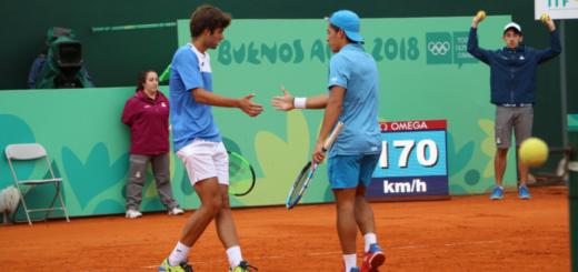 Nuevo oro para Argentina en los JJOO de la Juventud: Sebastián Báez y Facundo Díaz Acosta se consagraron campeones en dobles del tenis masculino