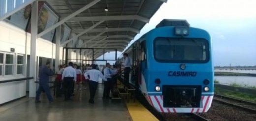 Los domingos no funcionará el servicio de tren Posadas-Encarnación