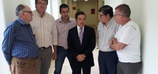 Rovira recibió ayer a la Comisión Pro Municipio de Salto Encantado