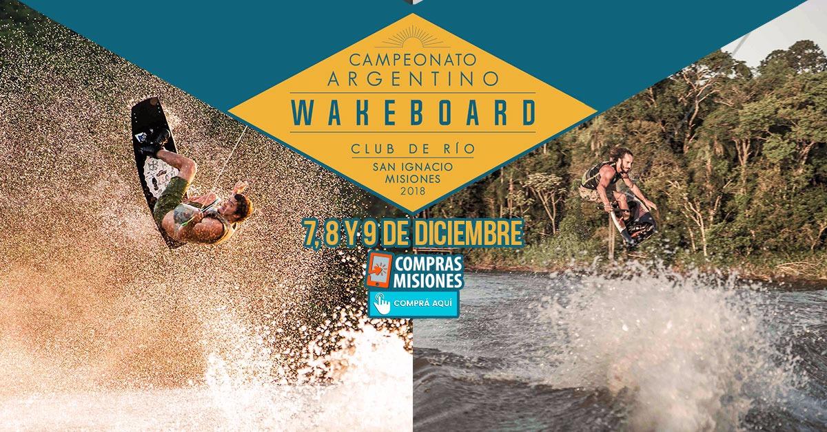 El Wakeboard en San Ignacio tuvo su lanzamiento oficial… Inscribite por Internet en Compras Misiones