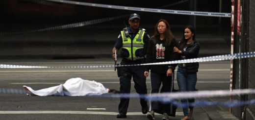 Un muerto y dos heridos tras un ataque terrorista en pleno centro de Melbourne