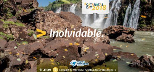 #CataratasDay2018 celebrará este domingo su séptimo aniversario como Maravilla Natural del Mundo. Aquí el programa completo
