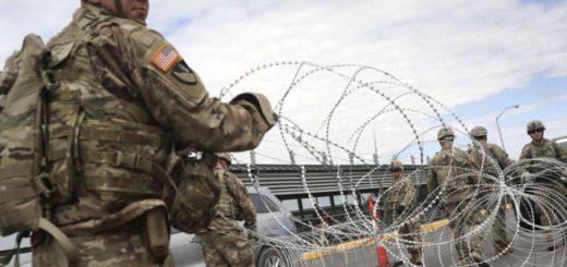 El Gobierno de Estados Unidos manda a los primeros mil soldados a la frontera para frenar el ingreso de inmigrantes al país