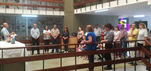 Día de los muertos: El Presidente del IPS participó de la misa en el cementerio La Piedad