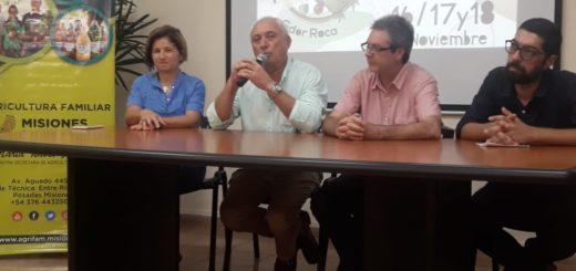 Presentaron la XIX Fiesta Provincial de la Mandioca y la III del Horticultor