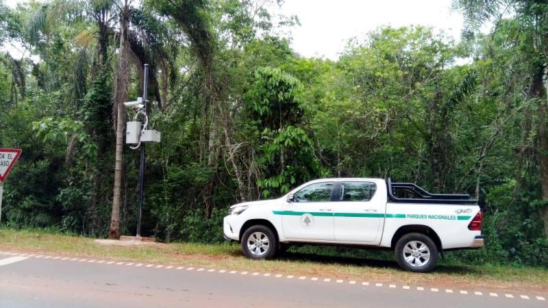 Radares que sacan fotomultas ya funcionan en Parque Nacional Iguazú