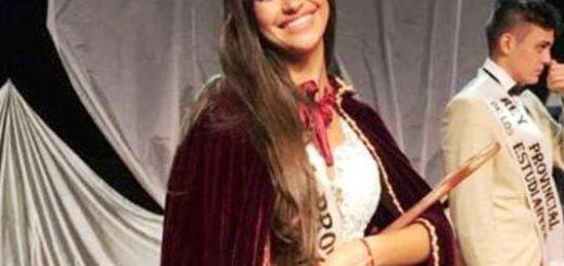 Macarena del Longo es la flamante Reina Provincial de los Estudiantes