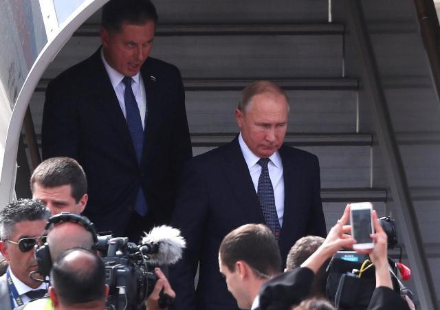 G20: Llegó Vladimir Putin a Buenos Aires tras la suspendida reunión con Donald Trump