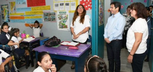 La EBY inaugura obras en la escuela 827del barrio La Nueva Esperanza