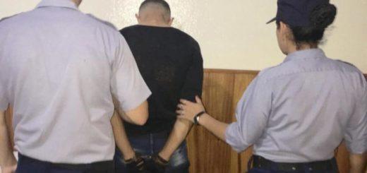 Un hombre fue detenido en Aristóbulo por causar destrozos en la vivienda de su ex pareja