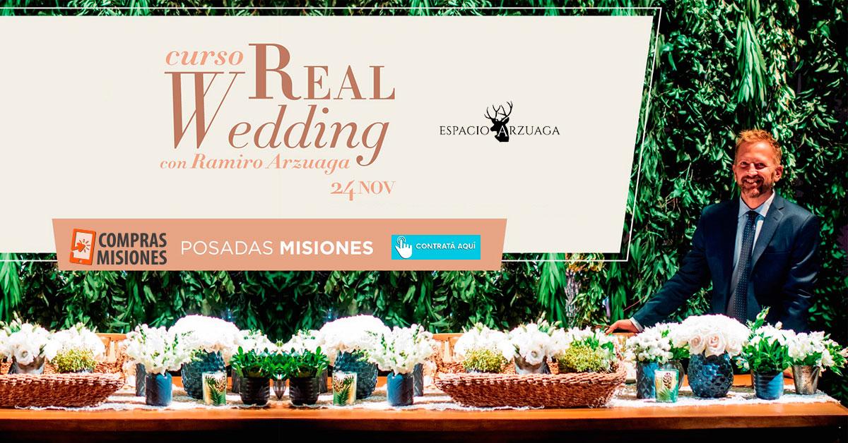 Ramiro Arzuaga, el ambientador de eventos más top de la Argentina, brindará cursos en Posadas…Inscribite aquí en Compras Misiones
