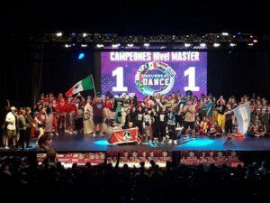 """Las juveniles de High Quality Crew """"Campeonas Sudamericanas"""" en Hip Hop de la Gran Final Universal Dance que se realizó en Córdoba"""