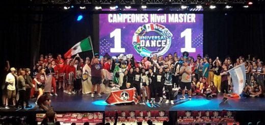 """Las juveniles de High Quality Crew """"Campeonas Sudamericanas"""" en Hip Hop de la Gran Final Universal Dance que se realiza en Córdoba"""