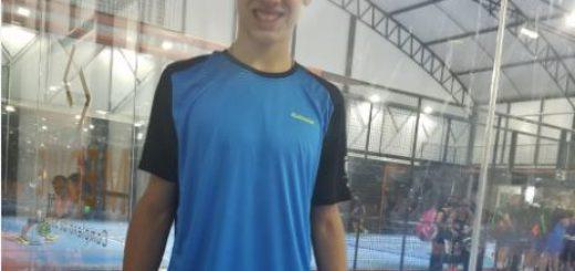 El misionero Leandro Augsburger se consagró campeón Panamericano de pádel