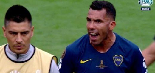 #SuperfinalLibertadores: La arenga de Tevez a sus compañeros una vez terminado el encuentro contra River
