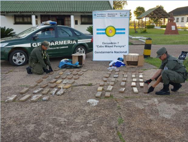 Corrientes: secuestran más de 64 kilos de marihuana que habían salido de Iguazú en encomiendas