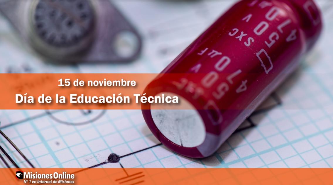 15 de noviembre: Día de la Educación Técnica
