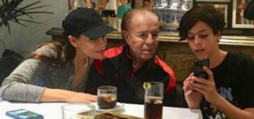 Internaron de urgencia al hijo de Carlos Menem y Cecilia Bolocco