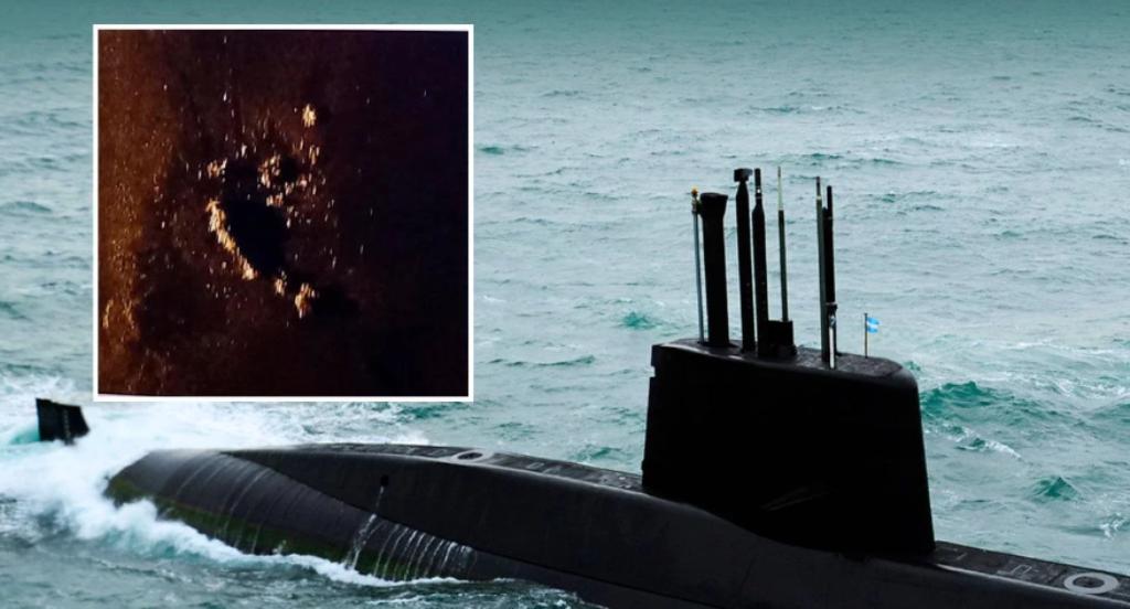 Detectaron un nuevo indicio de 60 metros de diámetro e investigan si es el ARA San Juan