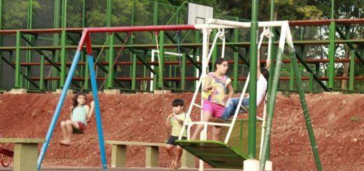 Inauguraron el playón deportivo en Colonia Victoria