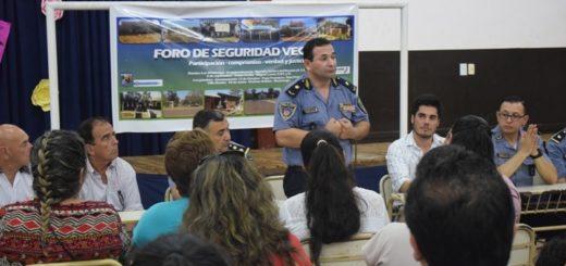 El Ministerio de Gobierno intensificó las reuniones con los Foros de Seguridad