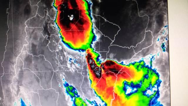 Advertencia meteorológica Naranja para mañana en Misiones