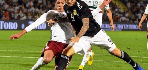 Argentina volvió a ganarle a México en un amistoso