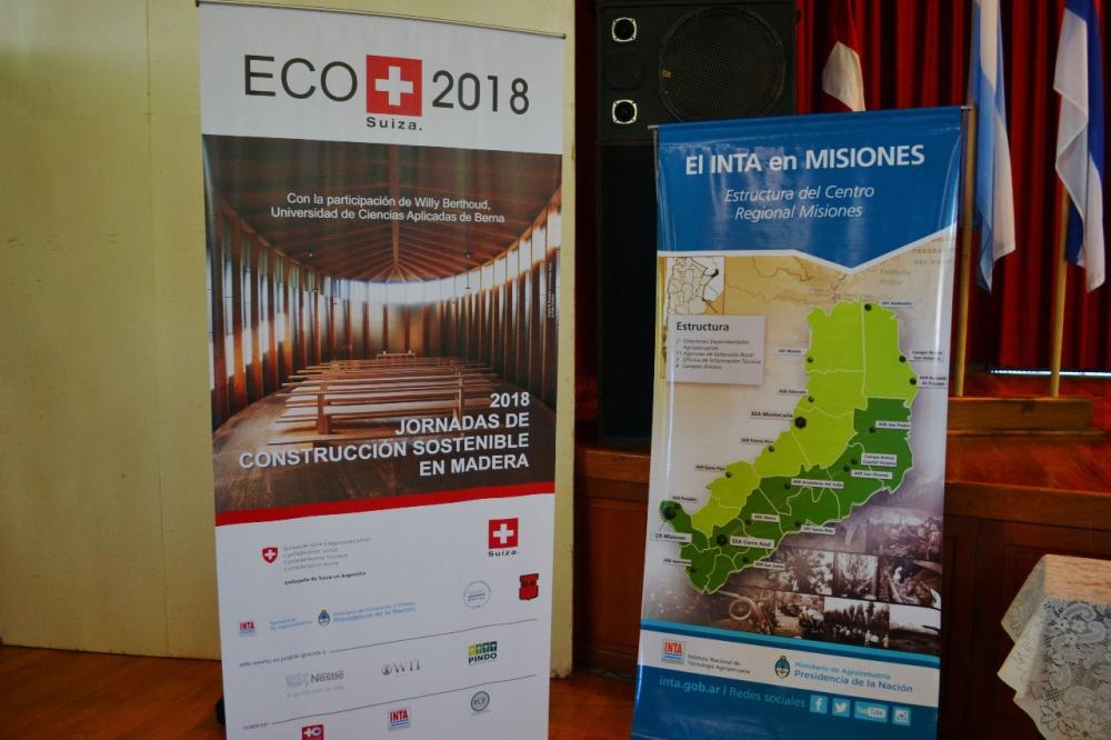 Desarrollo sostenible: la construcción con el uso de madera serán ejes de un acuerdo de intercambio de investigación y tecnología con Suiza