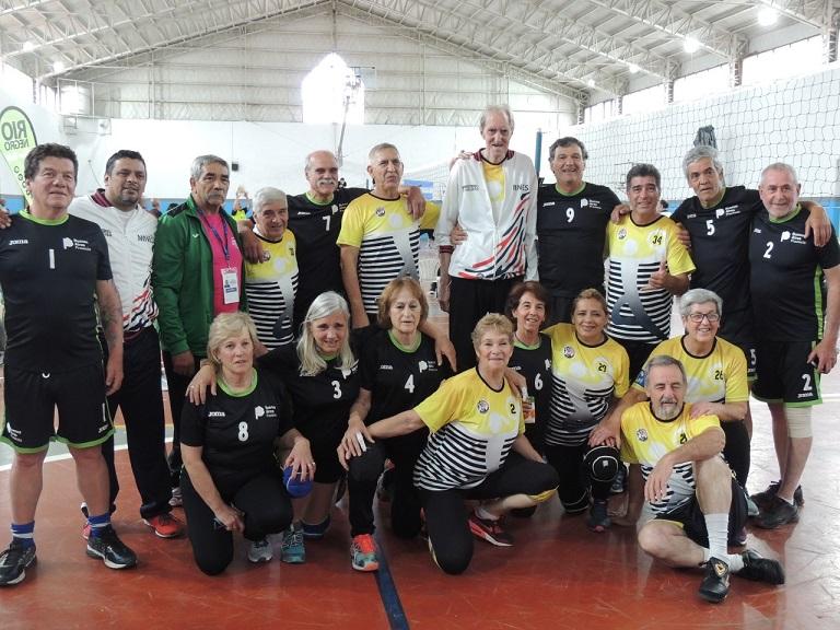 Finito Gehrmann, la estrella de los Juegos Nacionales Evita para Mayores