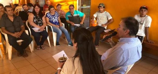 San Pedro fue el escenario de una reunión de vecinos con el Senador Nacional Humberto Schiavoni