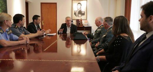 Formación profesional de las fuerzas de seguridad fue eje de reunión entre Passalacqua y miembros de la Guardia Civil Española