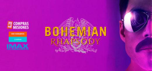 Bohemian Rhapsody sigue en el IMAX del Conocimiento y Los Grillitos Sinfónicos harán un tributo a Queen…Adquirí las entradas en Compras Misiones
