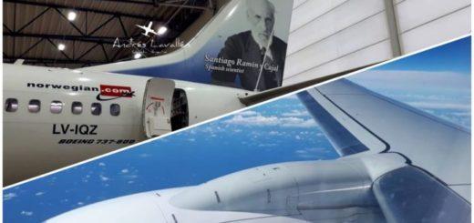 Ya está en vuelo hacia la Argentina el segundo 737-800 de Norwegian que también operará en Misiones