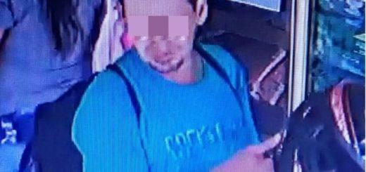 Ladrón que fue captado por cámaras de seguridad en tres golpes delictivos finalmente fue atrapado por la Policía