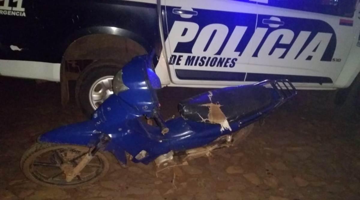 Cayó motochorro luego de intentar asaltar a una chica en Puerto Iguazú