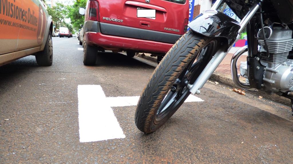 El 21 de noviembre comenzará a regir el estacionamiento para motos en Posadas
